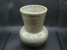 Chinese 19th century nice big crack glazed vase w4077