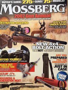 2007 Mossberg Gun Annual Catalog, 275 Guns, 75 Models Featured
