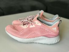 NEW ADIDAS ALPHABOUNCE EM Womens SIZE 8.5 Running Shoes Pink Sneakers BW1195