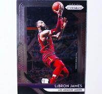 2018-19 Panini Prizm LeBron James #6 Cleveland Cavaliers LA Lakers ~ Base Card