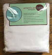 American Baby Company Chenille Crib Sheet New