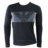 T-shirt Emporio Armani EA7 mens long sleeve mod.6gpt59 black