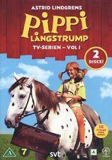 2 DVD Pippi Langstrumpf Långstrump SCHWEDISCH Astrid Lindgren TV-SERIE VOL. 1