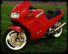 Ducati 907 Ie A4 Metal Sign Motorbike Vintage Aged