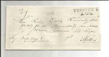 Preussen V / TREPTOW A/R 5. APR., L2 auf Pracht-Brief n. Stettin