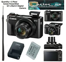 Give Away Deal Sale Canon Powershot G7 X Mark II / G7x M2 Digital Camera