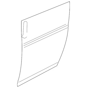 Genuine GM Outer Panel 23283993