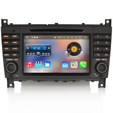 "7"" Car Android 6 WiFi GPS Sat-Nav DVD Stereo DAB Radio For Mercedes C-Class W203"