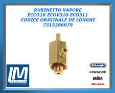 RUBINETTO VAPORE ECO310 ECOV310 ECO311 7313286079 DE LONGHI ORIGINALE