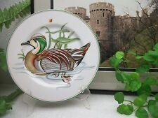 "Mcmlxxx Fitz & Floyd Porcelain Canard Sauvage 7.5"" Woodduck Wildlife Plate 1980"