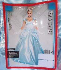 New Roma Princess Blue Costume Dress Adult Medium Stroke Of Midnight Maiden