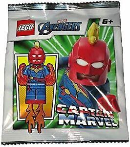 Blue Ocean LEGO Super Heroes Captain Marvel Minifigure Foil Pack Set 242003