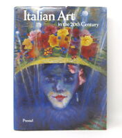 Italian Art in the 20th Century Hardcover Book Painting Sculpture Prestel VG