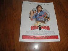 HOT ROD_ADAM SANDBERG PROMO AD-2007-Mint