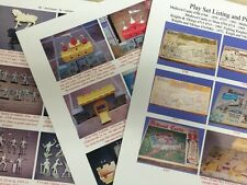 Marx Medieval Castle Knights and Vikings Playset Guide w/ Pictures by SSSSSA