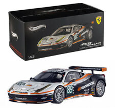 Ferrari 458 Italia GT2 Le Mans 2011 Farnbacher 1:43 Hot Wheels Elite X5498