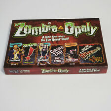 Zombie-opoly Board Game-Killer Game-Fun Never Dies-Late for the Sky