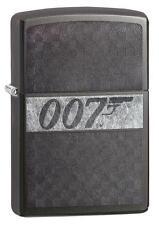 Zippo Windproof James Bond 007 Lighter, Laser Engraved, 29564, New In Box
