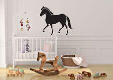 Horse Inspired Design Childrens Kids Bedroom Wall Art Decal Vinyl Sticker