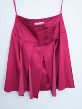 New ALANNAH HILL She Wept All Night Sz 8 Fuschia Pink Bow Wrap Skirt RRP $249