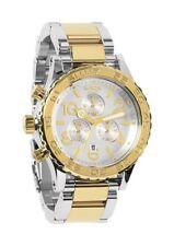 Nixon Men's 42-20 Chronograph Watch with Link Bracelet A0371431