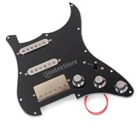 Prewired SSH Alnico 5 Humbucker Pickguard for Fender ST SG Electric Guitar