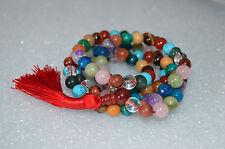 Custom made Chakra Mala Beads Necklace for Prescilla
