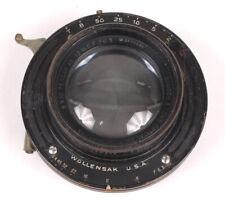 """Bausch & Lomb Series IIb 12"""" F6.3 8x10 Tessar Lens in Betax Shutter"""