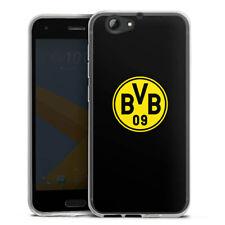 HTC One A9 s Silikon Hülle Case HandyHülle - BVB Schwarz