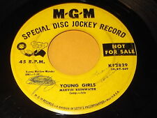 Marvin Rainwater: Young Girls / The Valley Of The Moon 45 - Rockabilly