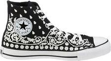 Converse All Star Adult Bandana Hi Black/White 105768
