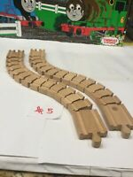 (2) WACKY TRACKS~Thomas the Train And Friends Wooden Railway~GOOD CONDITION~#5