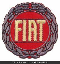 FIAT CLASSIC Patch Aufnäher Bügelbild Automobile Italy Italia BLITZVERSAND