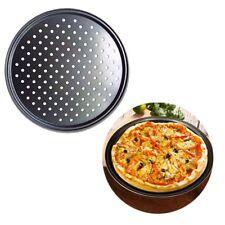 "12"" Pizza Baking Oven Tray Large Round Non-stick Pan Cake Pie Tray Baking Tool"