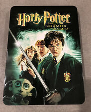 HARRY POTTER and the Chamber of Secrets Rare Collectors Tin - 2 Disc DVD