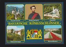BAYERISCHE KÖNIGSSCHLÖSSER Linderhof Neuschwanstein König Ludwig II GERMANY pc