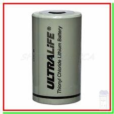 ULTRALIFE ER 34615 Batteria Pila 3,6V Li-SoCl2 STD BA Torcia D Allarme Gps