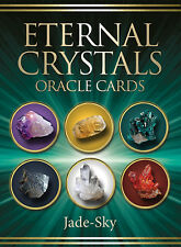 Eternal Crystal Oracle NEW Sealed 44 Color Cards Guide book Jade-Sky Jane Marin