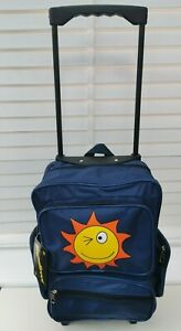 Kids Cabin Hand Luggage Trolley Case SUNFACE Wheeled Backpack Travel Bag Holdall