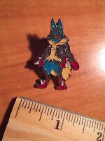 NM Mega M LUCARIO EX Metal PIN/BADGE Pokemon FURIOUS FISTS XY Blister 55-113/111