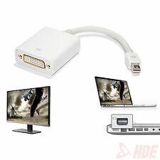 Mini DisplayPort Thunderbolt to DVI Cable Adapter for MacBook Air MacBook Pro
