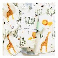 Baby Muslin Swaddle Blankets  Baby Bath Towel Swaddle Blankets Baby Wrap Towel