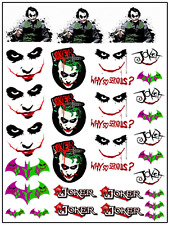 1/64, 1/87 - DECALS FOR HOT WHEELS, MATCHBOX, SLOT CAR: JOKER
