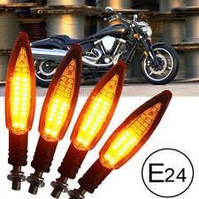 4x Motorrad LED Blinker Laufeffekt Lauflicht BYNAMI Sequentiell Vorn Hinten 12V