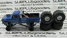 Greenlight 1:64 LOOSE Blue 1974 FORD F-250 Pickup Truck BIGFOOT Monster Truck