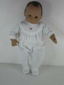 American Girl Pleasant Company Bitty Baby Doll #5 Brown Hair Med Skin 1990s PreM