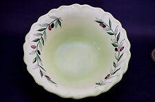 "Antique ca 1912 Francois Sicard France Pottery Large Scalloped Serving Bowl 14"""