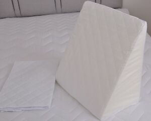 Replacement  PILLOW CASE quilted for foam Bed Wedge Pillow