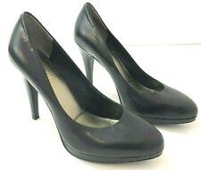 NINE WEST NWROCHA Heels Womens 7.5M Black 4 In Heel