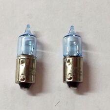 FLOSSER Mini-Halogen blue  12V 6W BAX9S H6W (QTY 2) 000000000172  400633